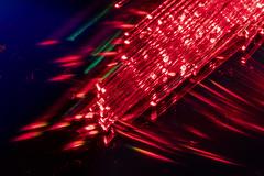 Red Fibre Optic Light (superdavebrem77) Tags: