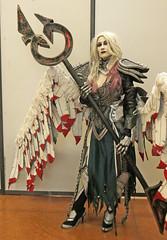 CGC2019_IGCFaitDesCosplay_007 (Ragnarok31) Tags: castres geek connexion igc cosplay cosplayer cosplayeuse armure armor costume