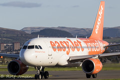 G-EZIO Airbus A319 Easyjet Glasgow airport EGPF 01.01-19 (rjonsen) Tags: plane airplane aircraft aviation airliner airside taxying special scheme livery