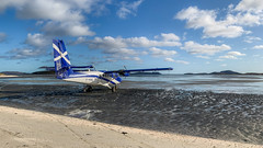 IMG_2954 (Invincible Moose) Tags: barra airport beach dhc6 viking400 loganair series400 dhc6400