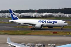 ANA Cargo JA771F (Howard_Pulling) Tags: ana 777200 777200f japan japanese allnippon narita freighter