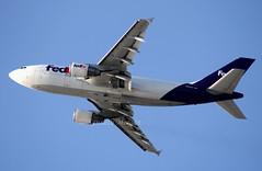 N804FD (Ken Meegan) Tags: n804fd airbusa310324f 549 fedexexpress losangeles lax 3032009 fedex cargo airbusa310 airbus a310300 a310324f a310