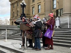 Rally Against UCP Austerity (livingsanctuary) Tags: yeg edmonton alberta legislature ableg ucp austerity cutbacks