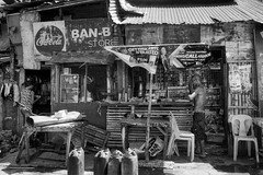 Ban-B Store and Restaurant (Beegee49) Tags: street people store restaurant cafe blackandwhite monochrome sony a6400 bacolod city philippines asia bw happyplanet asiafavorites