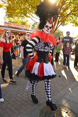 Dressed for the event (radargeek) Tags: parade procession dayofthedead plazadistrict okc oklahomacity 2018 october catrina festival facepaint