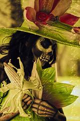our skin (Mau Silerio) Tags: catrina day dead fashion fashionable fashionista model corn folklore culture celebration portrait