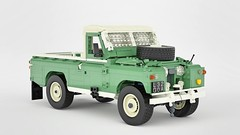 Land Rover 2A 109 (John D O'Shea) Tags: land rover 2a 109 lego moc wip 4x4 offroad classic car pickup