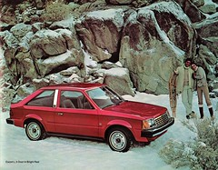 1981 Ford Escort L 3-Door (aldenjewell) Tags: 1981 ford escort l 3door dealer brochure