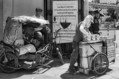 Ice Cream (Beegee49) Tags: street people ice cream seller blackandwhite monochrome bw sony a6400 bacolod city philippines asia