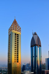Dubai Rose (Neal J.Wilson) Tags: sheikh zayed road dubai uae united arab skyline skyscrapper emirates buildings cityscapes city goldenhour golden futuristic travel travelling arabian metropolis hotel middleeast