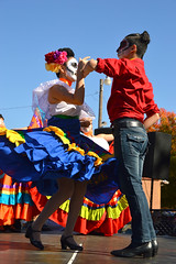 When the dead spin (radargeek) Tags: dayofthedead plazadistrict okc oklahomacity 2018 october catrina festival facepaint everythinggoesdancestudio dancing