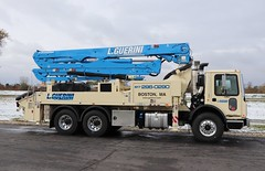 L. Guerini Group Inc. Pump Truck (raserf) Tags: l guerini group inc pump pumper pumping truck trucks concrete cement mack putzmeister sturtevant wisconsin racine county boston massachusetts