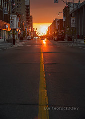 And, Your Love (jah32) Tags: sunset sun sunsets sunlight streetscenes streets streetscene streetscape onthestreet stthomasontario canada elgincounty lines city cities poetry poem love