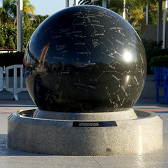 Sky Globe (Arimm) Tags: arimm sky globe sphere sculpture fountain map stella sony nex6 e 18200mm