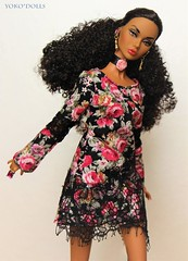 Gardens of Versailles Poppy (YOKO*DOLLS) Tags: poppyparker doll boho barbie fashionroyalty integrity fashion