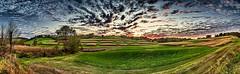 8R9A1765-70PtaMzl1FTBbGERk (ultravivid imaging) Tags: ultravividimaging ultra vivid imaging ultravivid colorful canon canon5dm3 clouds sunsetclouds scenic vista sky sunset autumn view evening twilight trees fields farm tree field rural countryscene painterly pennsylvania pa panoramic cornfields trail