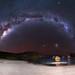 Milky Way at Elephant Cove - Denmark, Western Australia