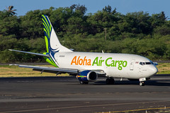 Aloha Air Cargo Boeing 737-300F; N303KH@HNL;18.09.2019 (Aero Icarus) Tags: honoluluinternationalairport honolulu hnl oahu hawaii plane avion aircraft flugzeug