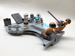 16.1: Destruction of Vandos Prime (Bric_) Tags: lego star wars minifigures 253rd legion moc