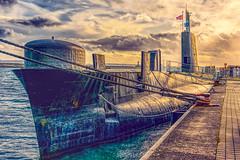 Her Majesty's Submarine OTUS (HSS) (Lense23) Tags: sliderssunday hss uboot rügen sassnitz submarine ostsee balticsea processed processedforsliderssunday