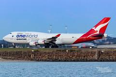 VH-OEF QF B747 34L YSSY-8320 (A u s s i e P o m m) Tags: sydney newsouthwales australia qantas qf boeing b747 b747400er syd yssy sydneyairport oneworld queenoftheskies vhoef