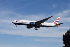 BA G-VIIE @ Myrtle Avenue, London (Heathrow Airport) (ianjpoole) Tags: british airways boeing 777236er gviie arriving with flight ba292 washinton dulles international airport london heathrow