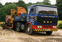 OHD766T ERF B SERIES (Mark Schofield @ JB Schofield) Tags: jim taylor transport road commercial vehicle lorry truck wagon tipper tanker artic eight wheeler haulage contractor bulk haulier tractor unit freight hgv lgv