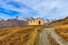 Sur le chemin ... (Savoie 10/2019) (gerardcarron) Tags: canon80d automne mtcenis savoie chapelle cloud ciel hautemaurienne landscape mountains nature