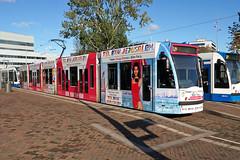 Amstelstation - Amsterdam (Netherlands) (Meteorry) Tags: europe nederland netherlands holland paysbas noordholland amsterdam oost east est amstelstation prinsbernardplein mrteublaan jeruzalem telaviv citybreaks gvb12 siemens combino 13g tram streetcar tramway public transport publique transportencommun transit gvb gvb2090 october 2019 meteorry