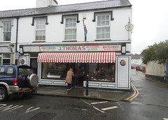 Photo of Butcher Shop, Church Street,  Llangefni, Anglesey 10 October 2019