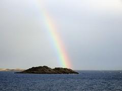 DSC02485 Raftsund Regenbogen (josefinenfeld) Tags: norwegen reise hurtigruten 2019 finnmarken regenbogen raftsund