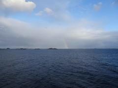 DSC02486 regenbogen (josefinenfeld) Tags: hurtigruten 2019 reise norwegen finnmarken regenbogen