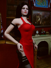 Jesse in the study. (Blondeactionman) Tags: bamhq agent of bam jesse hudson doll phicen action figure photography jakes study diorama playscale one six scale