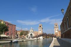 The Venetian Arsenal / Arsenale di Venezia (Sokleine) Tags: arsenal shipyards armories construction architecture canal venezia venice venise veneto italia italie italy europe patrimoine industrialheritage