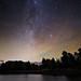 Milky Way over Loch Beinn a Mheadhoin