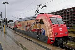 P1970172 (Lumixfan68) Tags: eisenbahn züge loks baureihe 101 drehstromloks elektroloks werbeloks deutsche bahn db intercity ic adtranz