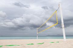 Beachscape 1 (Bernd Walz) Tags: beach beachscape sea seascape beachvolleyball emptiness minimalism minimalistic fineart mallorca