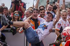 Marc Márquez - Álex Márquez. Malaysian GP 2019