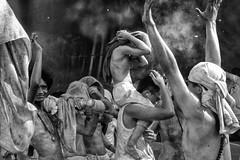 The Mood Of The 9 Emperor - Photo 9 (Mio Cade) Tags: celebrate 9emperorfestival nineemperor emperor child boy men smoke firecracker explode monochrome phuket thailand reportage documentary hot dust series faith ritual religion devotee risk