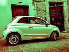 Fiat 500 (that Geoff...) Tags: fiat 500 car cars autos automobiles italia umbria italian sliderssunday samsung s7 hss