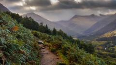 Ascending Ben nevis @ Scotland