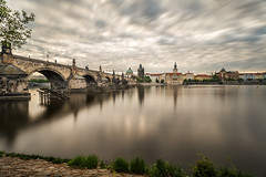 Charles Bridge and a view of the Old Town (PhotoVision by Pavel Rezac) Tags: holiday antique architecture art background baroque beautiful boat bohemia bridge building canal charles colorful culture czechrepublic destinations devil europe exterior famous historic illumination island landmark love medieval mill morning old palace panorama picturesque prague river romantic scene sky staircase statue stone sunrise tourist town travel trees unesco view vltava water hlavníměstopraha czechia