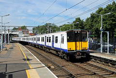 315826 315853 Harold Wood (CD Sansome) Tags: tfl transport for london 315 geml great eastern main line train trains crossrail harold wood station 315826 315853