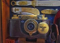 Leica or Russian copy (try...error) Tags: world war ii wwii camera german leica leitz elmar museum history russian fake fed fed2 industar jupiter