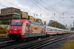 P1970207 (Lumixfan68) Tags: eisenbahn züge loks baureihe 101 elektroloks drehstromloks deutsche bahn db werbeloks adtranz intercity ic