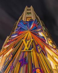 Louis Vuitton (Sam Codrington) Tags: london england unitedkingdom louisvuitton fashion facade night mayfair
