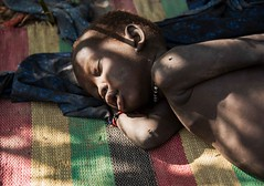 More Malaria, South Sudan (Rod Waddington) Tags: africa african afrique afrika south sudan malaria child boy candid cattle camp sick sleeping mundari tribe traditional tribal culture cultural ethnic ethnicity