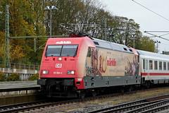 P1970187 (Lumixfan68) Tags: eisenbahn züge loks baureihe 101 elektroloks werbeloks drehstromloks deutsche bahn db intercity ic adtranz