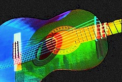Sentimental Rondo (Zoom Lens) Tags: woodandsteel guitar abstract surreal
