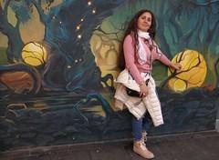 Street art. Arte callejero. (habanera19) Tags: world portrait flickr gilrl barcelona street city people stilllife art colors coth5 españa nature outside cataluña fashion urbana streetart fotografía artecallejero beautiful women latina europa family
